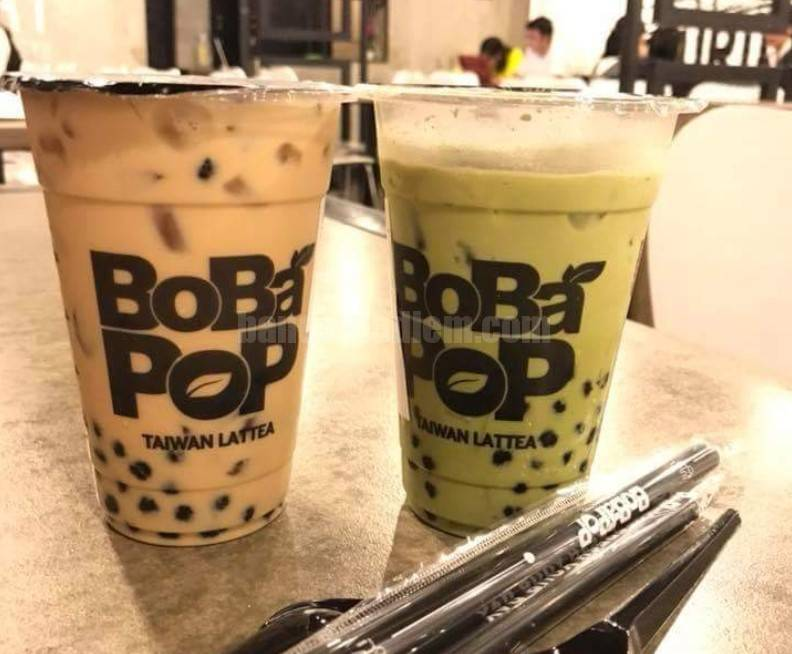 Thương hiệu trà sữa của Bobapop