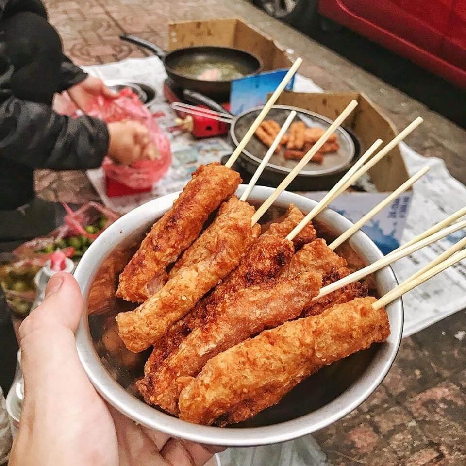Ăn vặt đường Nguyễn Thượng Hiền