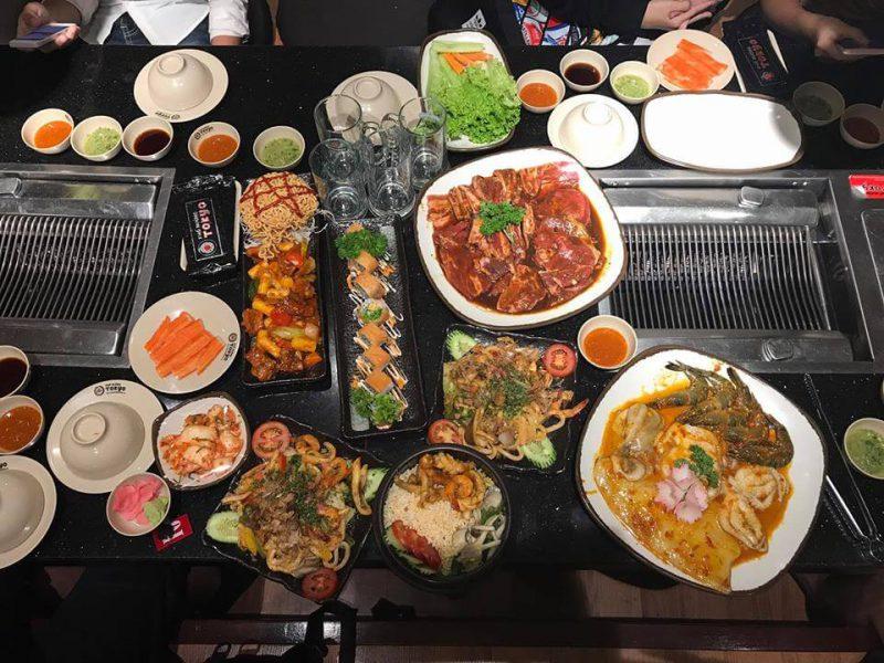 đồ ăn tại Tori
