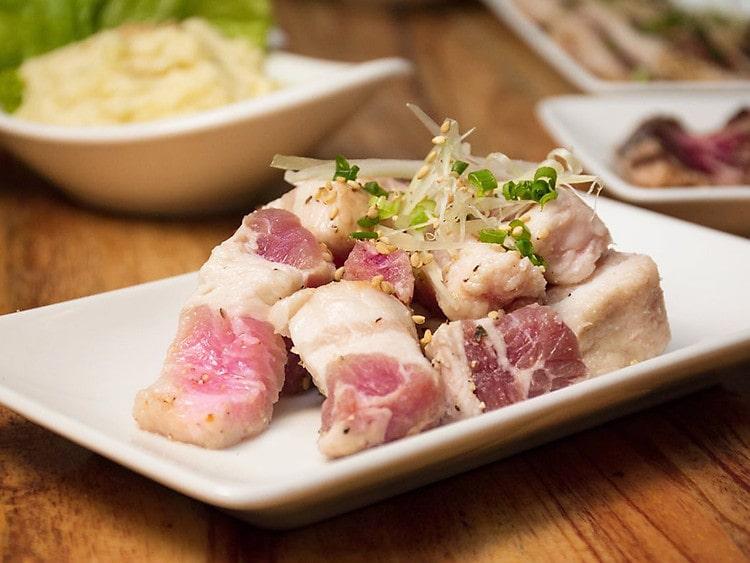 Đồ nướng của quán Butasama