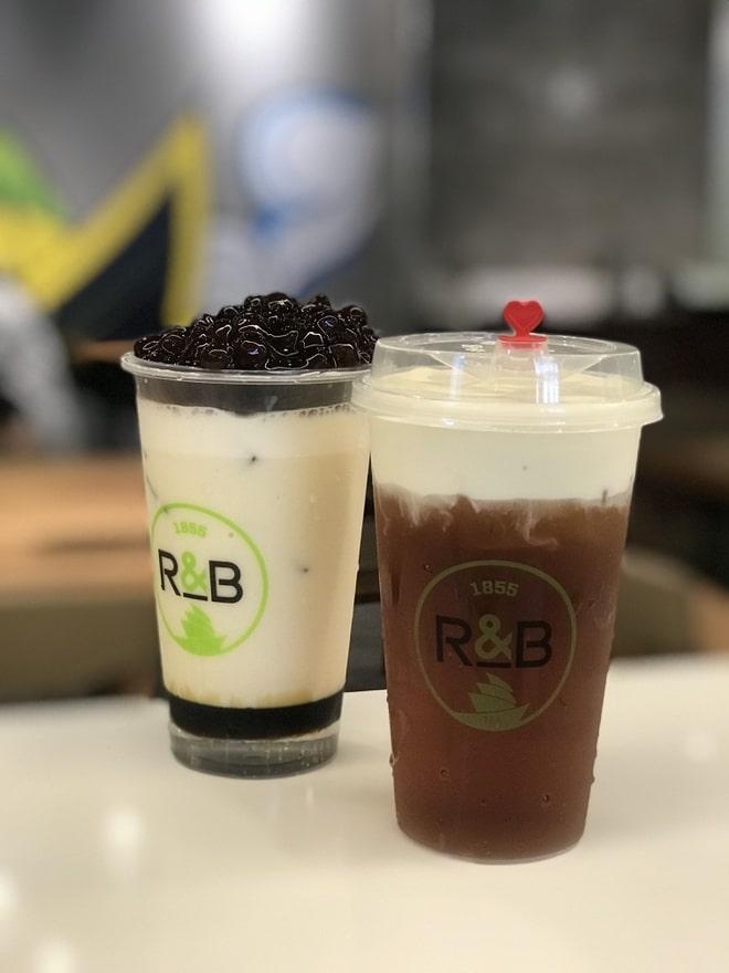 Thương hiệu trà sữa R&B